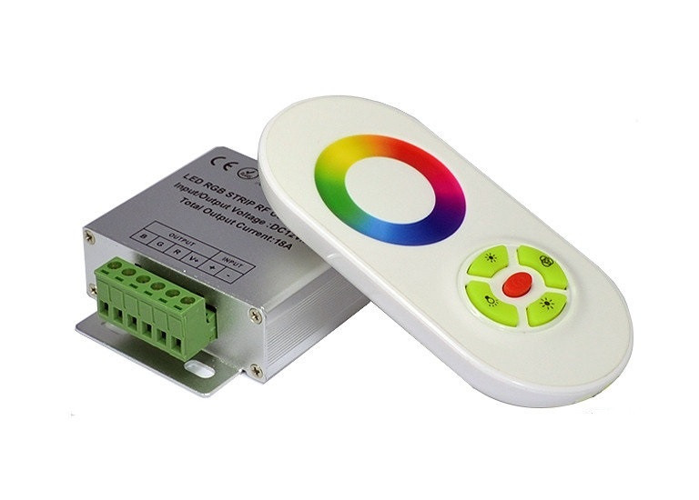 Контроллер RF RGB 18А White (Touch)