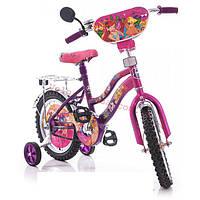 Детский двухколесный велосипед winx 16 дюймов