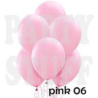 Воздушные шарики Gemar А50 пастель Розовый, 5' (13 см) 100 шт