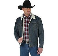 Джинсовые куртки, Wrangler sherpa lined denim jacket