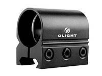 Крепление Olight WM20 для фонарей диаметром 25,4 мм к Weaver