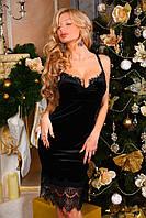 Женское коктельное платье №28-9001