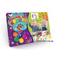 Пальчиковые краски Мое первое творчество 7 цветов Danko toys PK-01-01