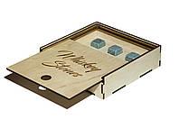 Камни для виски 9 шт Whiskey Stones в деревянной коробке