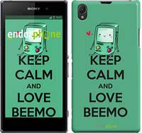 "Чехол на Sony Xperia Z1 C6902 Adventure time. Beemo v2 ""2447m-38"""