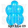 Надувные шары Gemar А50 светло-голубой пастель, (13 см) 100 шт