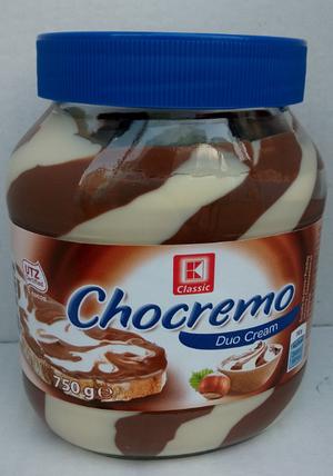 Шоколадная паста Chocremo Duo Cream 750g , фото 2