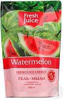 Крем-мыло жидкое Fresh Juice дой-п 460 мл с глицерином Waterrmelon арбуз e.13273