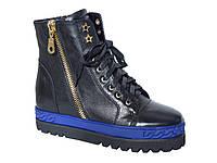 Женские кожаные кроссовки-сникерсы Saveno №W6507-0551R