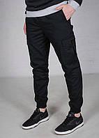 Штаны зимние мужские, брюки, супер качество  F&F Winter Black