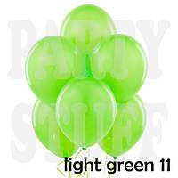 Воздушные шары Gemar А50 Салатовый пастель, 5' (13 см) 100 шт