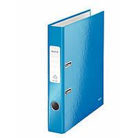 Папки-регистраторы А4 180° 50 мм Leitz Wow синий металлик 10060036
