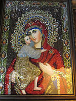 """Икона """"Богородица с Младенцем"""" Владимирская  от студии LadyStyle.Biz"""