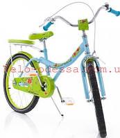 Детский двухколесный велосипед strawberry  скидка 16 дюймов