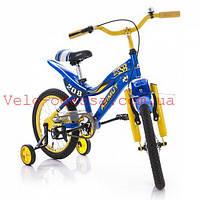 Детский двухколесный велосипед  KSR Premium 16 дюймов