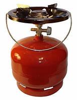 Газовый баллон с горелкой на 5 литров