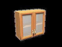 Кухни МДФ рамочный верхний 600 мм под стекло