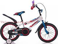 Детский двухколесный велосипед фибер fiber 16 дюймов