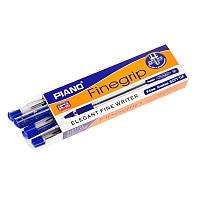 Ручка шариковая синяя на масляной основе, 0,5 mm Piano Finegrip (10 шт\уп.) KP10270013