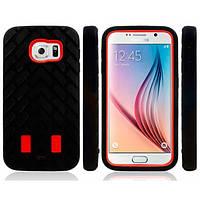 Чехол Tyre ударопрочный для Samsung Galaxy S6 красный, фото 1
