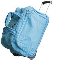 Стильная дорожная сумка на колесах