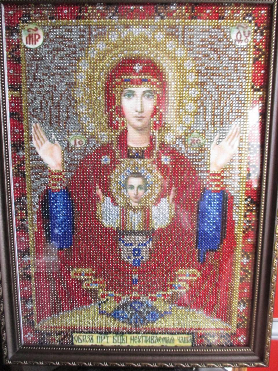 """Икона """"Богородица с Младенцем"""" Неупиваемая чаша  от студии LadyStyle.Biz"""