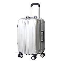 Дорожный пластиковый чемодан на колесиках SM51054119