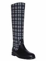 Женские  демисезонные кожаные сапоги низкий ход Pier Lucci №2782