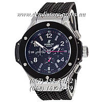 Часы Hublot Big Bang Classic Automatic Black-Silver-Black-Red