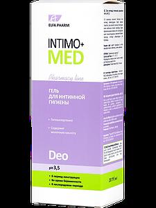 Гель для интимной гигиены Intimo+med Deo pH 3.5 200мл