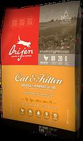 Orijen CAT & KITTEN 5.4кг (Ориджен Кэт энд Киттен) - корм для котят и взрослых котов