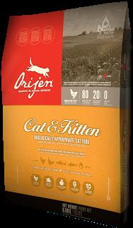 Сухой корм Orijen CAT & KITTEN для котят и взрослых котов