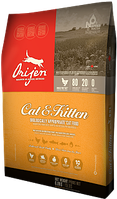 Orijen CAT & KITTEN 0.34кг (Ориджен Кэт энд Киттен) - корм для котят и взрослых котов