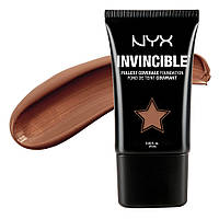 NYX INF15 Invincible Fullest Coverage Foundation Cocoa - Жидкая тональная основа, 25 мл