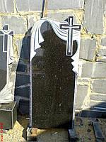 "Памятник из гранита  ""Крест с полотенцем"""