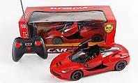 Машина 3688-К1, радиоуправление, на батарейках, открывание дверей с пульта, гоночная машина, блестящий подарок