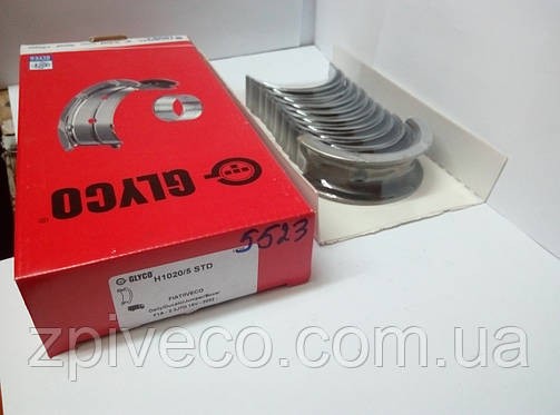 Вкладыши коренные std DAILY IVECO / FIAT DUCATO 2.3 JTD 16V;H1020/5 , фото 2