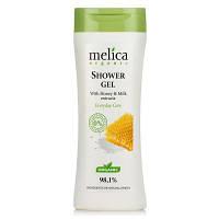 Гель для душа Melica Organic с медом и молоком 250 мл
