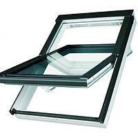 Мансардное окно Fakro влагостойкое с вентиляционным каналом 55*78 PTP-V U3  (Profi)