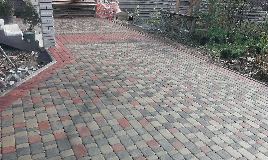Тротуарная плитка (Частные объекты)