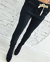 """Стильные трикотажные женские брюки """"Эва"""" с карманами (2 цвета)"""