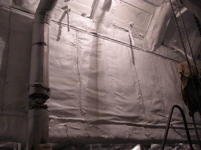 Теплоизоляционные работы корпуса и трубопроводов 2