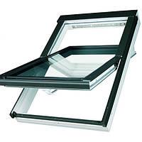 Мансардное окно Fakro влагостойкое с вентиляционным каналом 55*78 FTU-V U3  (Profi)