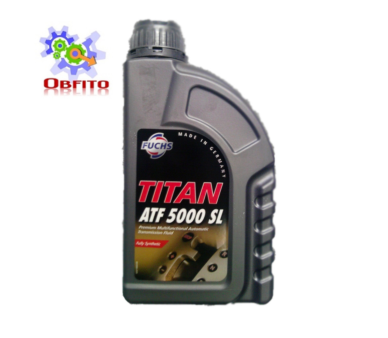 Fuchs TITAN ATF 5000 SL, 1л масло трансмиссионное синтетическое