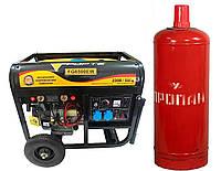 Генератор газо-бензиновый Forte FG 6500 GAS (5,5квт)