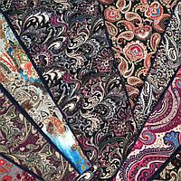 Хомут шарф женский теплый, шикарный узор, бархатный , новинка 2017