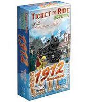 Билет на поезд: Европа 1912 (рус) (Ticket to Ride: Europe 1912 Rus) настольная игра