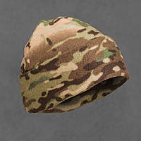 Флисовая шапка Polar Watch Cap двухслойная (мультикам)