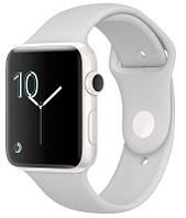 Apple Смарт-часы Apple Watch Series 2 42mm Ceramic Case Cloud Sport Band (ZKMNPQ2LL/A)