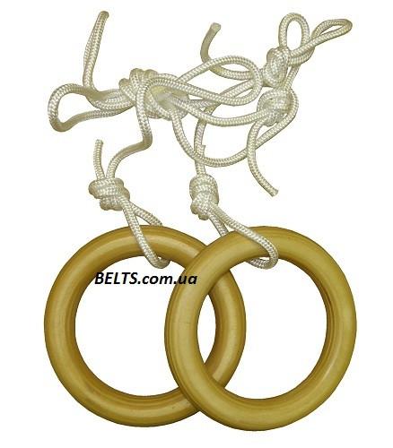 Кольца гимнастические для детей (gymnastic rings) Лак